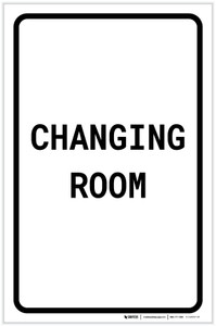 Changing Room Portrait - Label