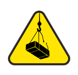 Lifting Operations Die Cut Label