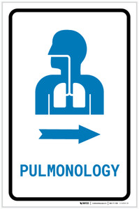 Pulmonology Right Arrow with Icon Portrait v2 - Label