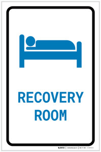 Recovery Room with Icon Portrait v2 - Label