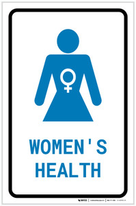 Women's Health with Icon Portrait v2 - Label
