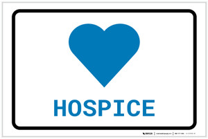 Hospice with Icon Landscape v2 - Label
