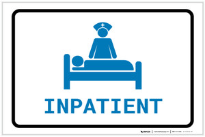 Inpatient with Icon Landscape v2 - Label