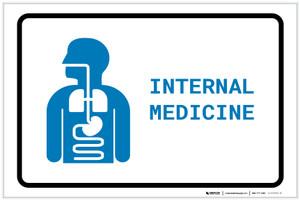 Internal Medicine with Icon Landscape v2 - Label