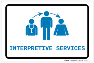 Interpretive Services with Icon Landscape v2 - Label