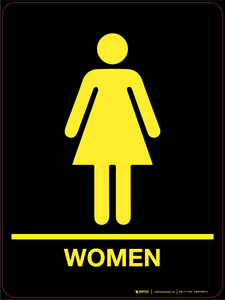 Female Sign (Wall)