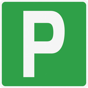 Parking Sign (Wall)