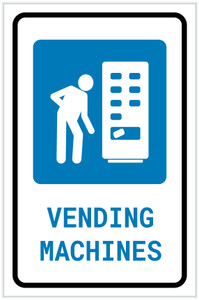 Vending Machines with Icon Portrait v2 - Label