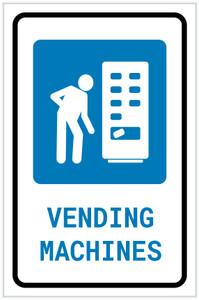 Vending Machines with Icon Portrait v2 - Label