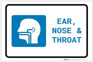 Ears, Nose, and Throat (ENT) with Icon Landscape - Label
