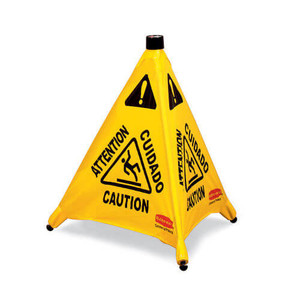 Rubbermaid Pop-Up Safety Cone 9S00 - Caution - 20""