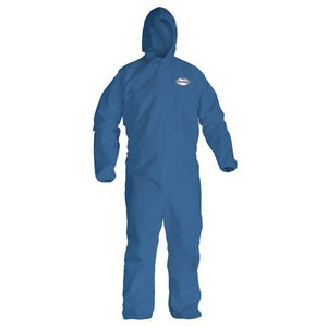 KleenGuard A20 - Blue XL Disposable Breathable Particle Protection Bib Coveralls/Overalls