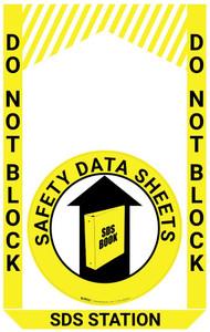 SDS (Safety Data Sheet) Station - Pre Made Floor Sign Bundle