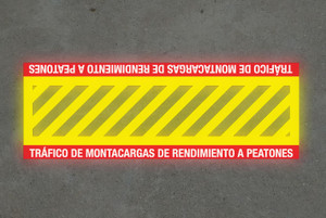SignCast S300 Virtual Sign - Crosswalk Sign (Spanish)