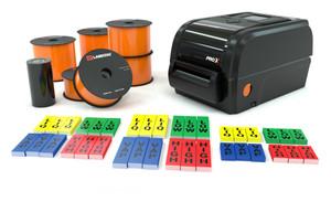 LabelTac® Pro X Orange Ammonia Pipe Marking Bundle