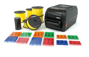 LabelTac® Pro X Yellow Ammonia Pipe Marking Bundle