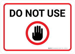 Do Not Use with Icon Landscape - Wall Sign