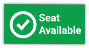 Seat Available with Checkmark - Label