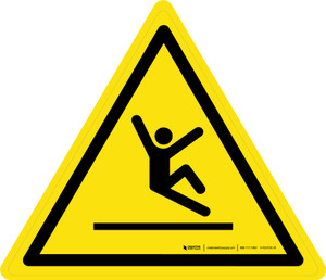 Slippery Surface Warning - ISO Floor Sign