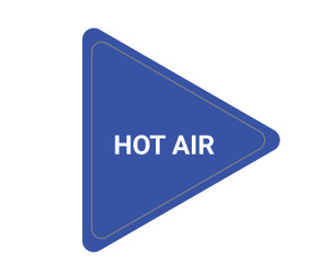 Hot Air - Triangle Duct Marker