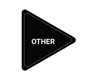 Other - Black - Triangle Duct Marker