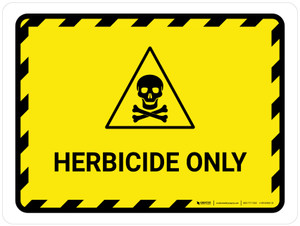 Herbicide Only Landscape - Wall Sign