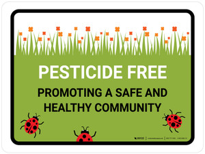 Pesticide Free Promoting Landscape - Wall Sign