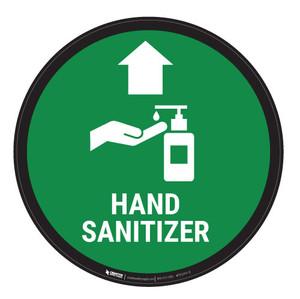 Hand Sanitizer - Carpet Sign