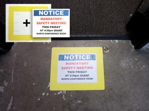 Floor Document Holder