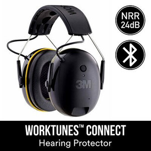 3M™ WorkTunes™ Connect Wireless Hearing Protector with Bluetooth®