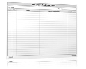 30 Day Action List