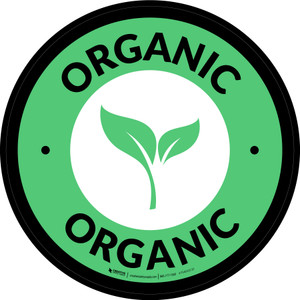 Organic Circle - Floor Sign