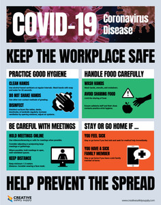 Covid Safety - Poster