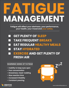 Fatigue Management Safety - Poster