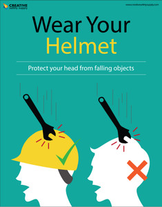 Wear the Right Safety Equipment - Poster