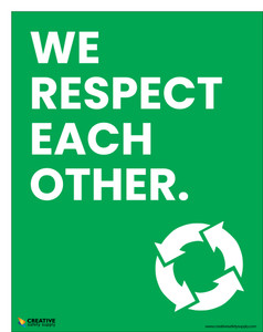 We Respect Each Other - Poster