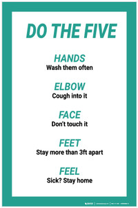 Do The Five: Hands Elbow Face Feet Feel - Label