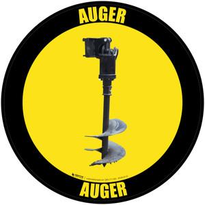 Auger - Floor Sign