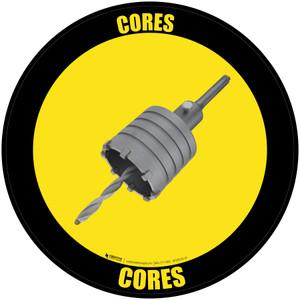 Cores - Floor Sign