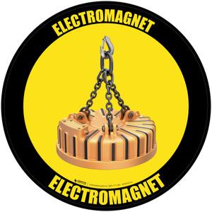 Electromagnet - Floor Sign