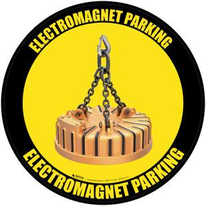Electromagnet Parking - Floor Sign