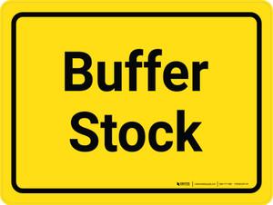 Buffer Stock Yellow Landscape - Wall Sign
