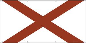Alabama State Flag - Banner