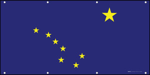 Alaska State Flag - Banner