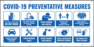 COVID-19 Preventative Measures Safety - Banner