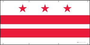 District of Columbia State Flag - Banner