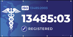 ISO 13485:2003 - Banner