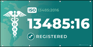 ISO 13485:2016 Banners