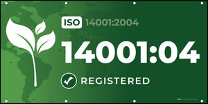 ISO 14001:2004 - Banner