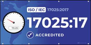 ISO 17025:2017 - Banner